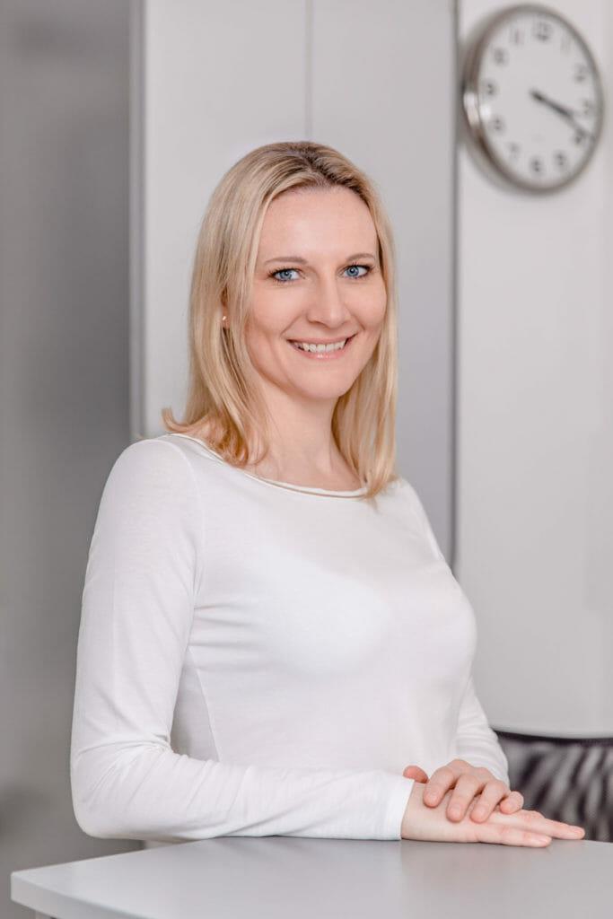Cindy Sonntag von Sonntag Physiotherapie in München Oberföhring.