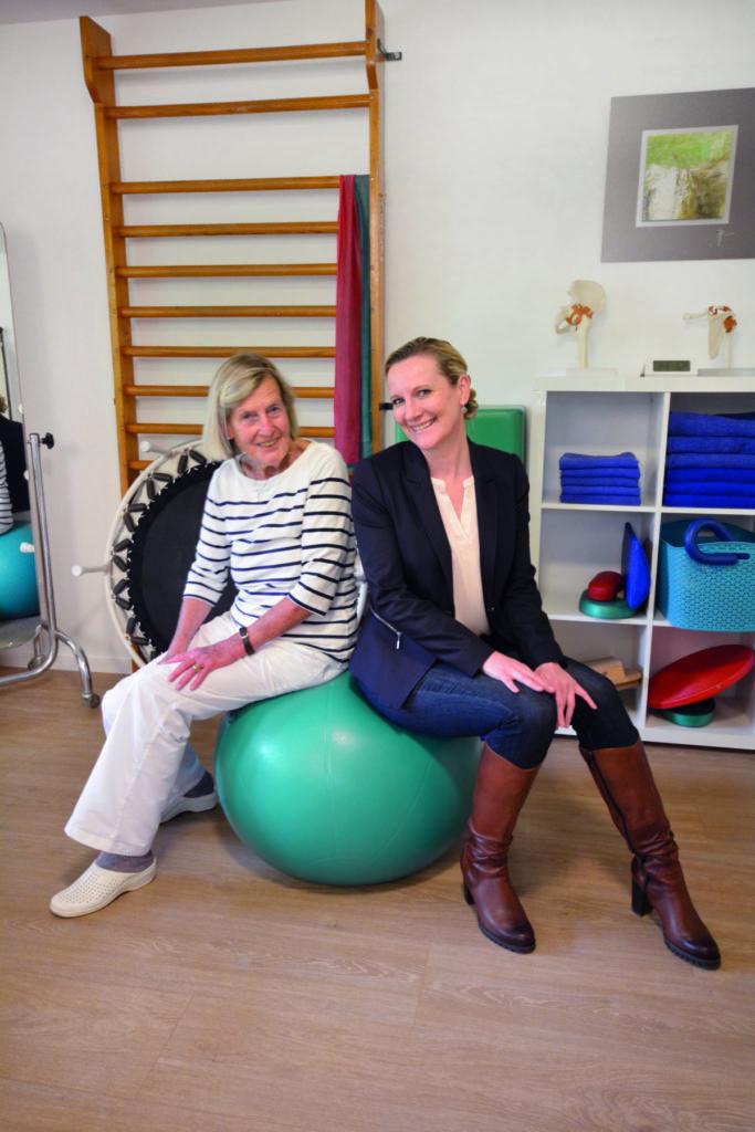 Aus dem gleichen Holz geschnitzt: Vorängerin Frau Erika Griesbach-Fichtner und Nachfoglerin Frau Cindy Sonntag.