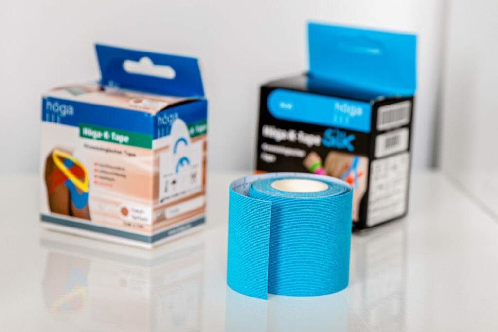 Kinesio-Tape-Rollen der Firma Höga