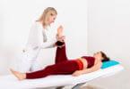 Wiederherstellung der Funktionalität und Beweglichkeit des Bewegungsapparates mittels der Krankengymnastik.